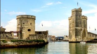 La Rochelle historic ruins