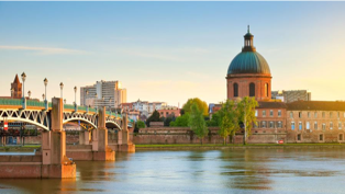 Toulouse landscape and canal